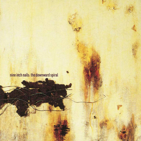 NINE INCH NAILS - DOWNWARD SPIRAL Vinyl LP