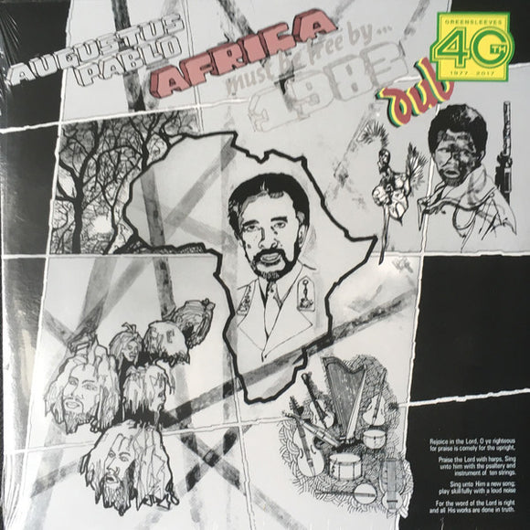 AUGUSTUS PABLO - AFRICA MUST BE FREE DUB LP