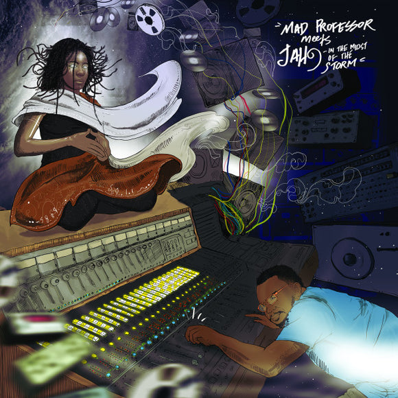 MAD PROFESSOR MEETS JAH 9 - IN THE MIDST LP