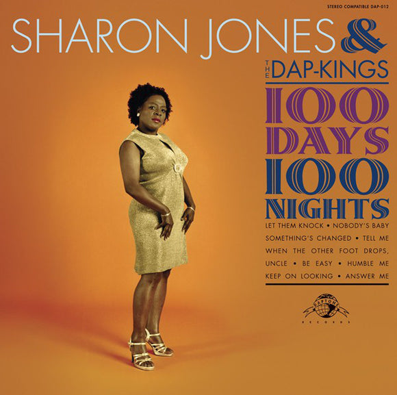 SHARON JONES & THE DAP KINGS - 100 DAYS 100 NIGHTS LP
