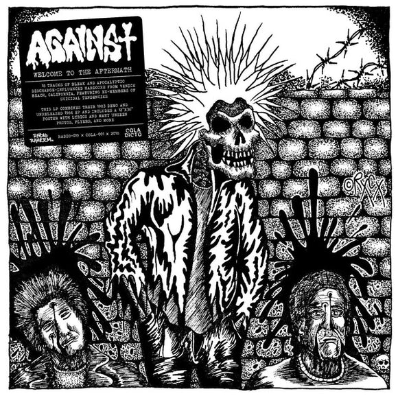 AGAINST - WELCOME TO THE AFTERMATH Vinyl LP