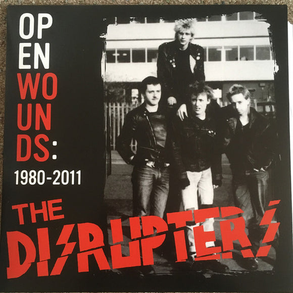 DISRUPTERS - OPEN WOUNDS LP
