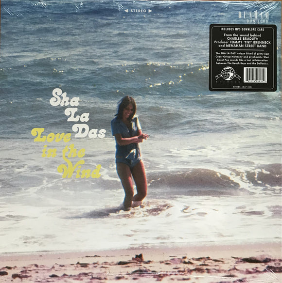 SHA LA DAS - LOVE IN THE WIND LP