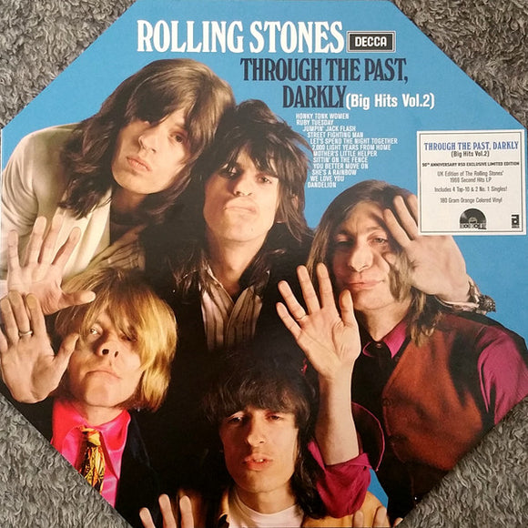 ROLLING STONES - THROUGH THE DARKNESS LP
