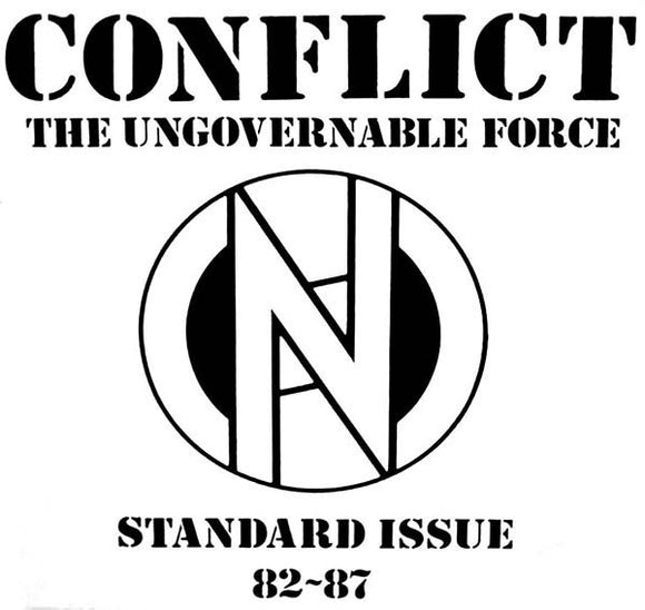 CONFLICT - STANDARD ISSUE 82-87 Vinyl LP