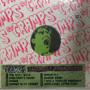 CRAMPS - NAZIBILLY WERWOELFEN LP
