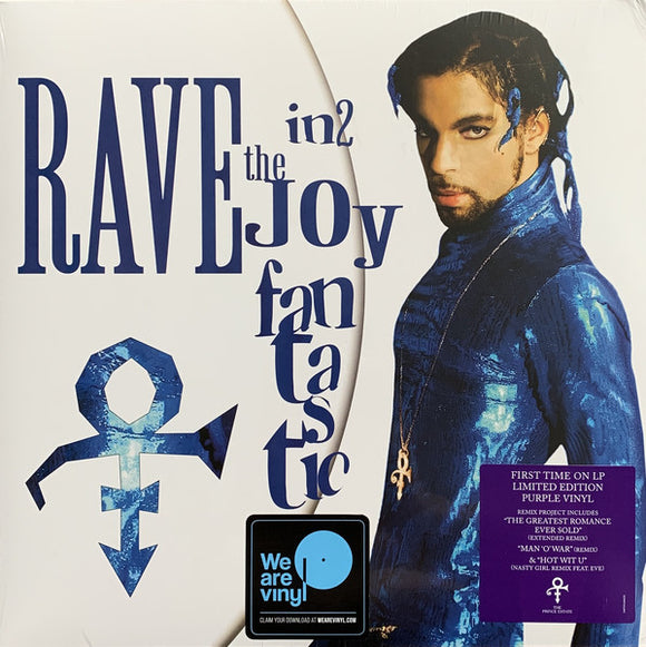 PRINCE - RAVE IN2 THE JOY FANTASTIC Vinyl LP