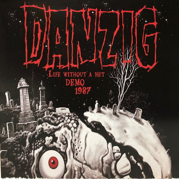 DANZIG - LIFE WITHOUT A NET DEMO 1987 VInyl LP