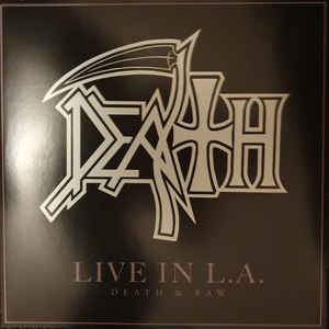 DEATH - LIVE IN LA DEATH & RAW Vinyl 2xLP