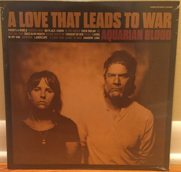 AQUARIAN BLOOD - A LOVE THAT LEADS TO WAR LP