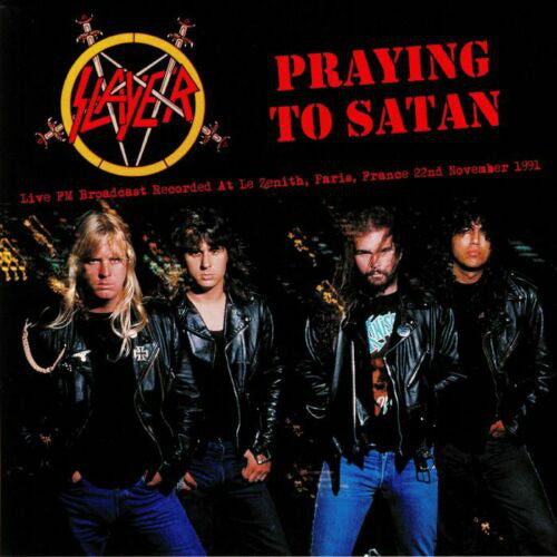 SLAYER - PRAYING TO SATAN LP
