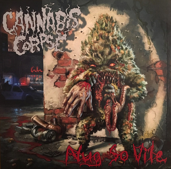 CANNABIS CORPSE - NUG SO VILE Vinyl LP (RED)