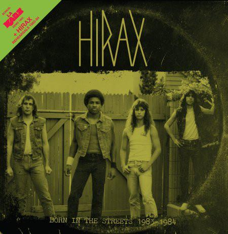 HIRAX / L.A. KAOS - BORN IN THE STRETS 1983 - 1984 LP