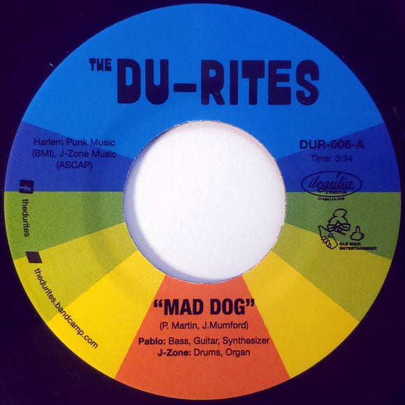 THE DU-RITES - MAD DOG 7