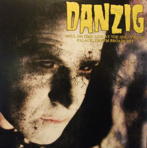 DANZIG - SOUL ON FIRE: LIVE AT THE HOLLYWOOD PALACE Vinyl 2xLP