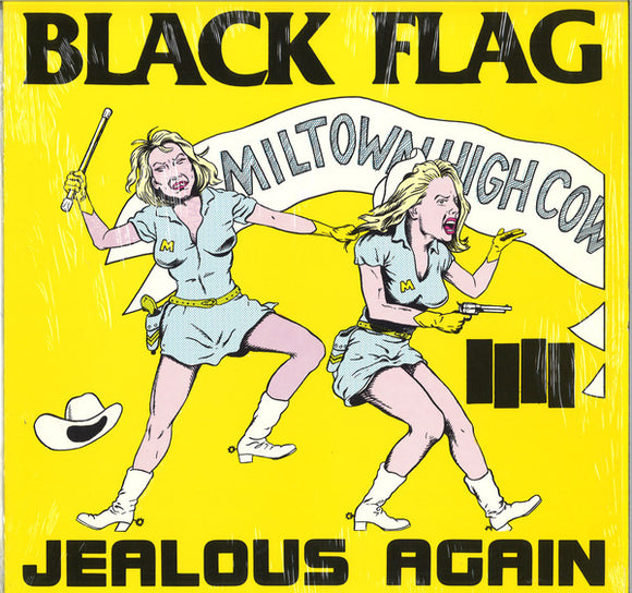 BLACK FLAG - JEALOUS AGAIN Vinyl 12