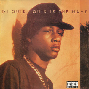DJ QUIK - QUIK IS THE NAME Vinyl LP
