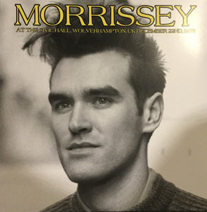 MORRISSEY - AT THE CIVIC HALL DEC 22 1988