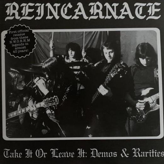 REINCARNATE - TAKE IT OR LEAVE IT LP