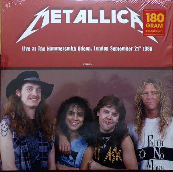 METALLICA - LIVE AT THE HAMMERSMITH ODEON, LONDON Vinyl LP