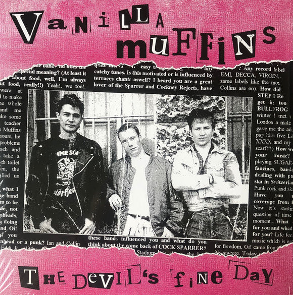 VANILLA MUFFINS - THE DEVILS FINE DAY (Purple Vinyl) LP