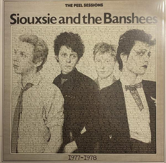 SIOUXSIE & THE BANSHEES - THE PEEL SESSIONS 1977 - 1978 Vinyl LP