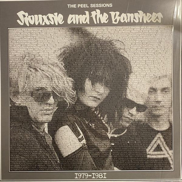 SIOUXSIE & THE BANSHEES - PEEL SESSIONS 1979 - 1981 Vinyl LP