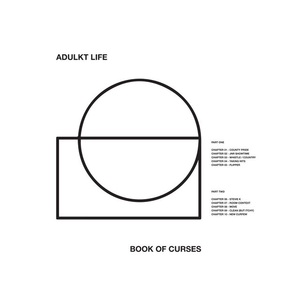 ADULKT LIFE - BOOK OF CURSES Vinyl LP