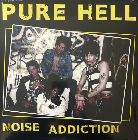 PURE HELL - NOISE ADDICTION (Pink Vinyl) LP