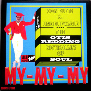 OTIS REDDING - DICTIONARY OF SOUL Vinyl LP