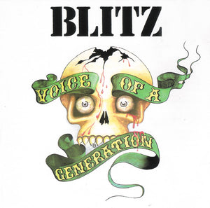 BLITZ - VOICE OF A GENERATION (G.U. Exclusive Pink Vinyl) LP