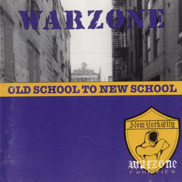 WARZONE - OLD SCHOOL TO NEW SCHOOL LP