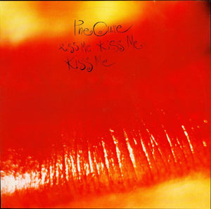 THE CURE - KISS ME KISS ME LP