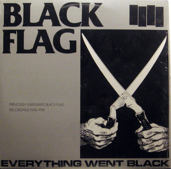 BLACK FLAG - EVERYTHING WENT BLACK LP