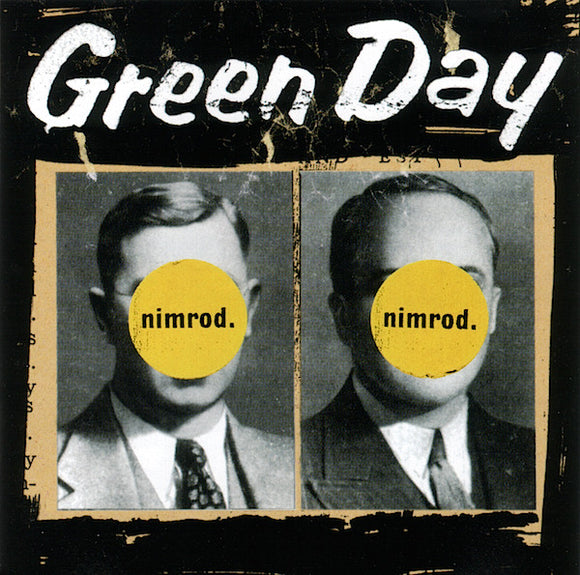 PRE-ORDER: GREEN DAY - NIMORD (Yellow Vinyl) 2xLP