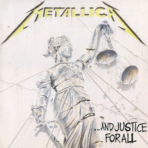 METALLICA - AND JUSTICE FOR ALL LP