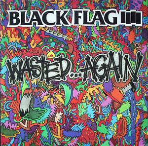 BLACK FLAG - WASTED AGAIN Vinyl LP