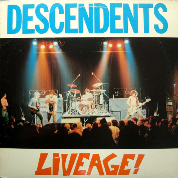 DESCENDENTS - LIVEAGE LP