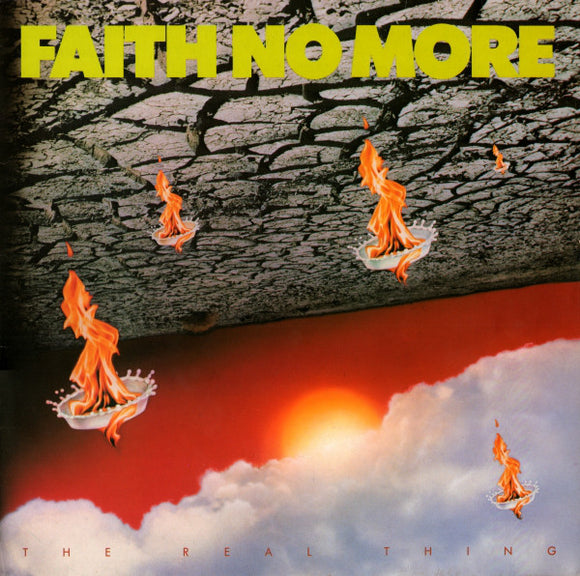 FAITH NO MORE - THE REAL THING (Yellow Vinyl) LP