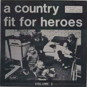 V/A - A COUNTRY FIT FOR HEROES VOL.2 (Pink Vinyl) LP