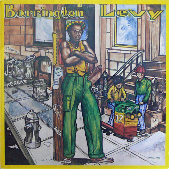 BARRINGTON LEVY - POORMAN STYLE Vinyl LP