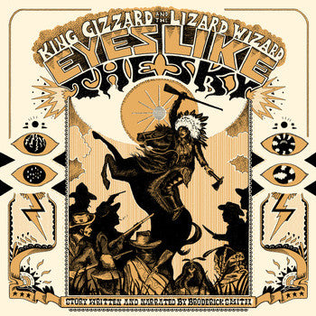 KING GIZZARD & THE LIZARD WIZARD - EYES LIKE THE SKY LP