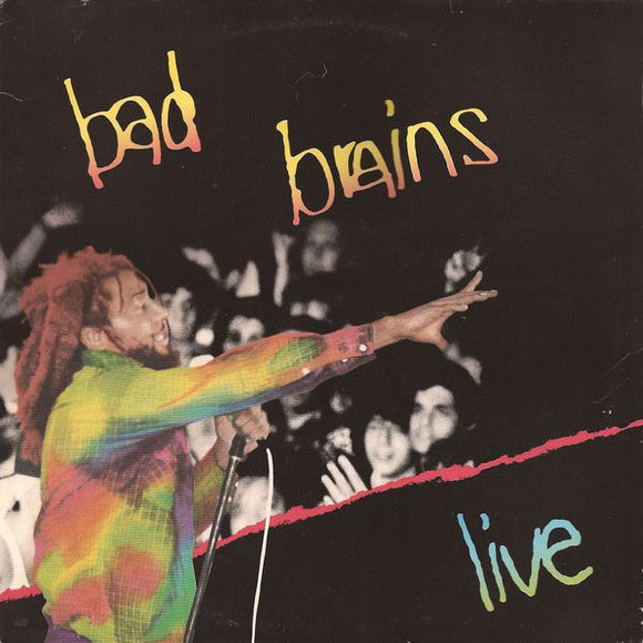 BAD BRAINS - LIVE LP