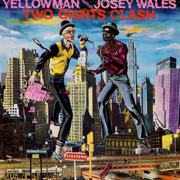 YELLOWMAN VS JOSEY WALES - TWO LEGENDS CLASH LP