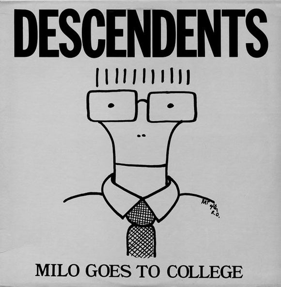 DESCENDENTS - MILO GOES TO COLLEGE Vinyl LP