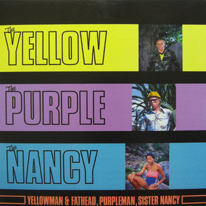 YELLOWMAN, PURPLEMAN, SISTER NANCY - YELLOW PURPLE LP