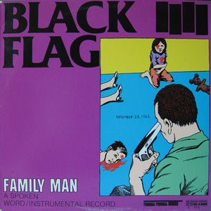 BLACK FLAG - FAMILY MAN LP