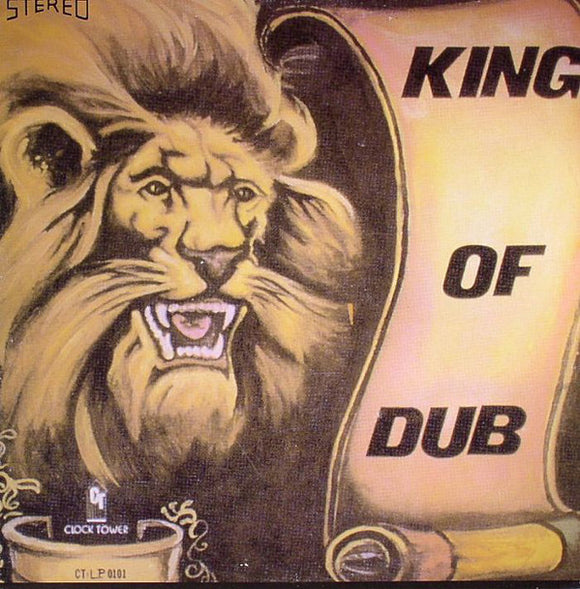 KING TUBBY - KING OF DUB LP