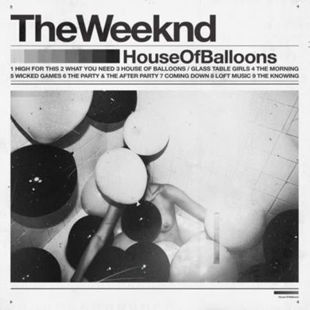 THE WEEKND - HOUSE OF BALLONS (Double) Vinyl LP