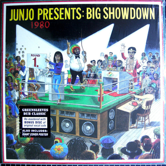 JUNJO PRESENTS - BIG SHOWDOWN LP